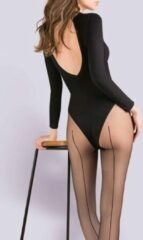 Gabriella Linette naadpanty kleur: zwart maat: S