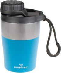 Blauwe RUBYTEC Shira Hotshot Drinkfles - 200 ML - Blauw