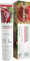 Nordics Oral Care Nordics Vegan Tandpasta Granaatappel BIO met Fluriode
