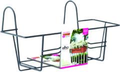 Groene Elho Green basics/berlin balkonrek 80cm antraciet