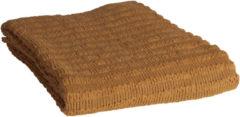 BePureHome Waving Gebreid Plaid - Fudge - 130x170