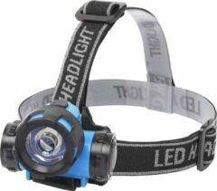 LED Hoofdlamp - Aigi Crunci - Waterdicht - 50 Meter - Kantelbaar - 1 LED - 0.8W - Blauw | Vervangt 7W - BSE