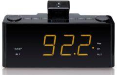 Blaupunkt Wecker, Digitale Wecker, Uhrenradio, 2 Weckzeiten »CLR-P-1800«