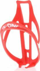 Roto X One Kunststof Bidonhouder 25 Gram Rood
