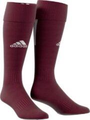 Donkerrode Adidas Santos Sok 18 - Bordeaux - maat 31-33