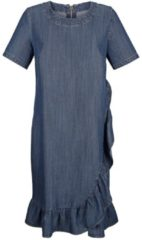 Kleid Alba Moda Denim/Blau