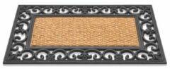 Bruine Massamarkt Rubber Mat Met Cocos Gazelle 45x75cm
