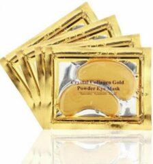 Gouden Collageen oogmasker - Crystal Collagen Gold Powder - Wallen wegwerken - Verhelpt wallen en donkere kringen onder de ogen- Hydraterend - 20st - 10 paar