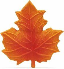 Lanco Toys Lanco Rubberen bijtspeeltje - Herfstblad rood