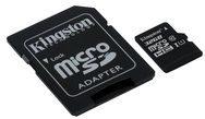Kingston Technology GmbH Kingston Flash-Speicherkarte (microSDHC/SD-Adapter inbegriffen) - 32 GB SDC10G2/32GB