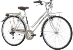 Cicli Cinzia 28 ZOLL CINZIA CLUB VINTAGE CITY FAHRRAD 6-GANG Citybike Damen weiß