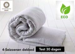 Witte SleepNext HQ**** SleepNext Luxe Hotel Dekbed Eco - Dekbed - 240x220 cm