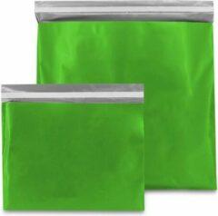 ArtiPack Verpakkingen Plastic verzendzakken - Groen - 50 x 46 cm (L) - 100 micron (kleding - webshop) - 20 stuks