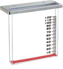 Transparante Nature Regenmeter voor balkon 21.5x9x20 cm