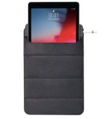 "DECODED Foldable Sleeve Tablet 11""- Hoogwaardig Full-Grain Leer, Diverese Kijkmodi, Minimaal Design Tablethoes tot 11"" [ Zwart ]"