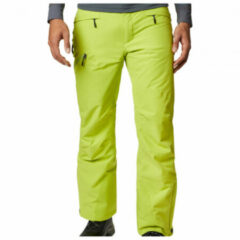 Columbia - Kick Turn Pant - Skibroek maat S - Regular, groen/geel