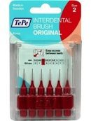 Tepe Original Ragers - Interdentale Borstels 0.5mm Rood