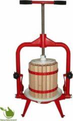 Rode Natuurlijkerleven Fruitpers 18 liter (kantelpers)