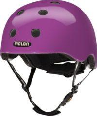 Melon Rainbow Purple Fietshelm - Maat M-L (52-58cm) - Paars