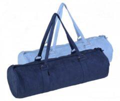 Yogatasche Style - Zip - Extra Big - Velour - 80 Cm Yogistar blue