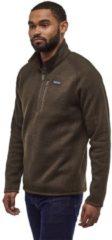 Patagonia Better Sweater 1/4 Zip Fleece Pullover bruin