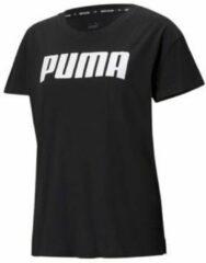 Puma T-shirt zwart/wit