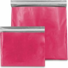 Fuchsia ArtiPack Plastic Verzendzakken - Roze - 400 x 300 mm (M) - 100 micron - (Kleding - Webshopzakken ) - 20 stuks