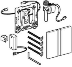 Geberit HyTronic urinoir stuursysteem infrarood batterij met bedieningsplaat Sigma 50 chroom 116.036.GH.1