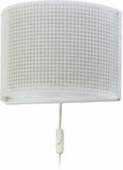 Dalber Wandlamp Ruit Beige 31 Cm