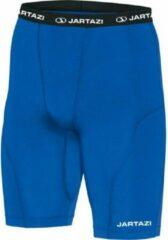 Jartazi Thermobroek Kort Heren Polyester/elastaan Blauw Mt L