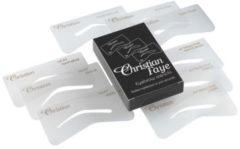 Transparante CF91 Christian Faye Eyebrow Stencils Sexy, Petit, Attractive Set 9 st.