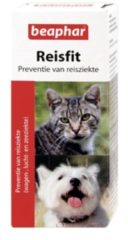 Beaphar Reisfit - Hond en Kat - Tegen reisziekte - 10 tabletten