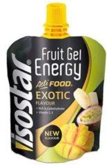Isostar Fruit & Cereal Energy gel multiverpakking - Exotic - 8 stuks