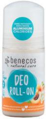 Benecos Deodorant roller abrikoos & vlierbes 50 Milliliter
