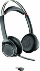 Plantronics UC B825 Telefoonheadset Bluetooth Draadloos On Ear Zwart