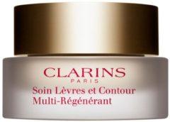 Transparante Clarins Baume Anti-Rides Lèvres et Contour lippenbalsem - 15 ml