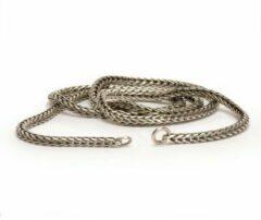 Trollbeads TAGNE-00009 Ketting Vossenstaart zilver (zonder slotje) 80 cm