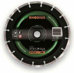 Slijpschijf met diamantlaag, gesegmenteerd Rhodius 394138 Diameter 230 mm Binnendiameter 22.23 mm 1 stuk(s)