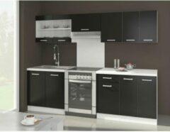 Autre ULTRA Complete keuken met werkblad L 2m40 - Zwart mat