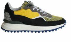 OUTLET! Floris van Bommel 16301 Sneakers heren Maat: 46 (11) geel 07 Yellow suède