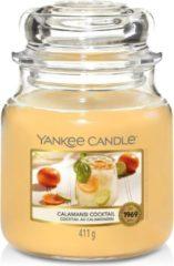 Oranje Yankee Candle - Calamansi Cocktail Candle ( koktej z kalamondinu ) - Vonná svíčka
