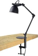 Urban Interiors Worker Klem Tafellamp Zwart - Industrieel - Ø12