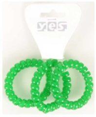 Solida Zopfabbinder Telefonkabel, grün, 3 Stück