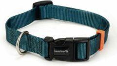 Donkergroene Beeztees Halsband uni do groen 48-70cm x 25mm