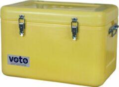 Gele Little Jumbo Kunststof kist polyethyleen 50 liter 540×380×330 mm (LxBxH)
