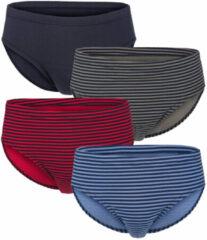 Marineblauwe Slips G Gregory 1x blauw/marine,1x grijs/marine,1x rood/marine, 1x marine