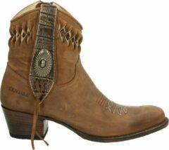 Sendra 14095 Debora dames cowboylaars - Cognac - Maat 38