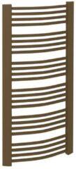 Handdoekradiator Sapho Egeon Gebogen 59.5x123.8 cm Brons