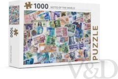 Rebo Productions Legpuzzel Notes Of The World 1000 Stukjes