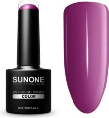 SUNONE UV/LED Hybrid Gel Paarse Nagellak 5ml. - F06 Flynn